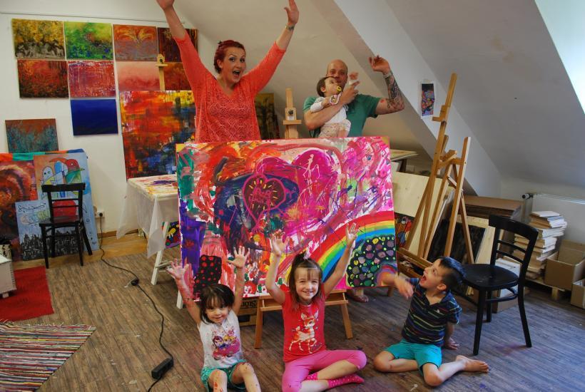 <p>workshop: familienmalen</p>