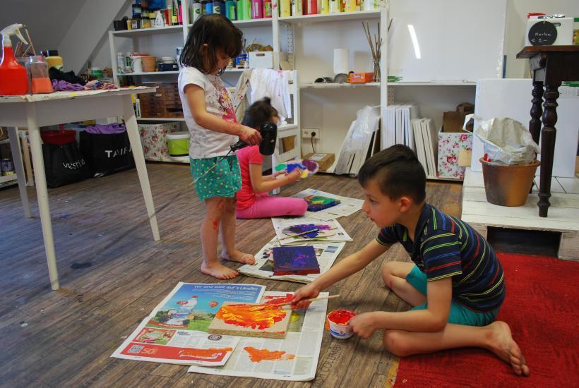 <p>workshop: kindermalen</p>