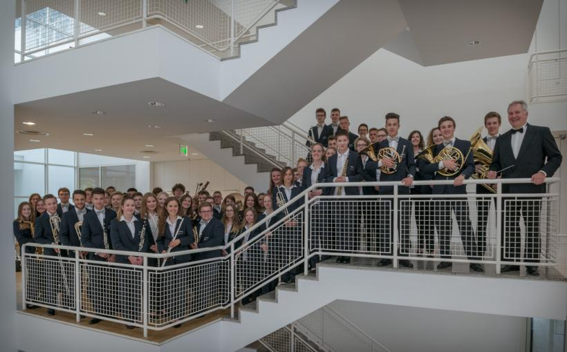 <p>Junge Bläserphilharmonie Ulm im Stadthaus Ulm</p>
