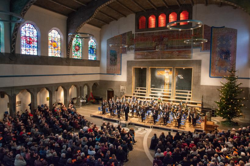 <p>Weihnachtskonzert in der Ulmer Pauluskirche</p>