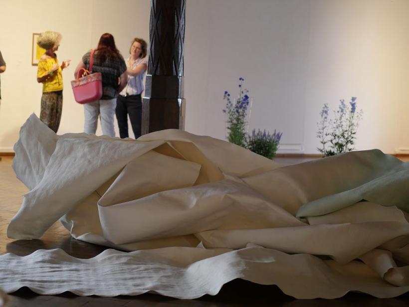 <p>Ausstellung Naomi Liesenfeld, Foto von Kathrin Häckert</p>
