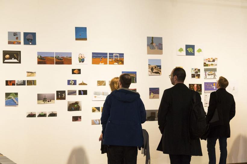 <p>Ausstellung Mert Akbal, Foto vonMartina Strilic</p>