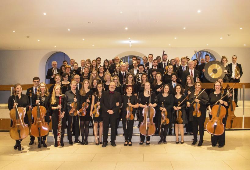 <p>Das Orchester der Technischen Hochule Ulm</p>