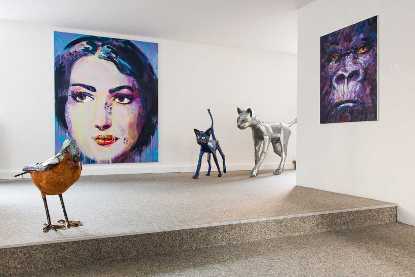 <p>Ausstellung von Marc Taschowsky und Matthias Garff</p>