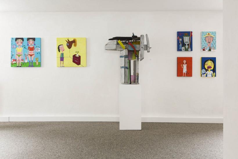 <p>Ausstellung Irene Fasender und Menno Fahl</p>