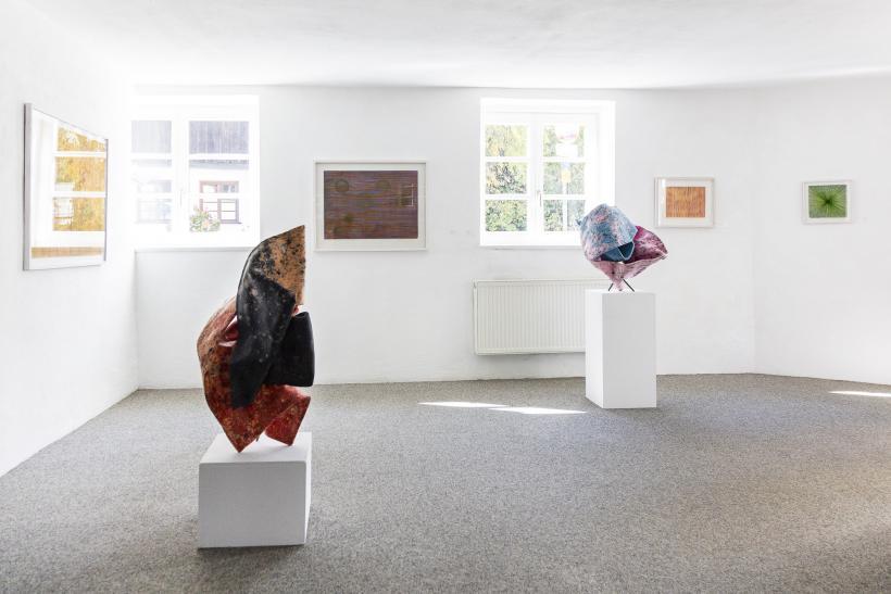 <p>Ausstellung mit Paul Mooney und Heiri Häfliger</p>