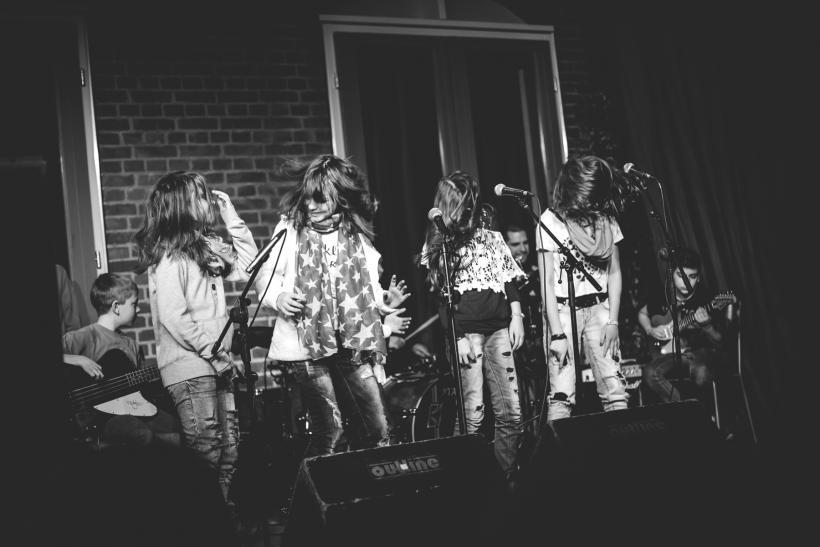 <p>Junge Talente auf der Bühne</p> <p>Foto: Diana Mühlberger</p>